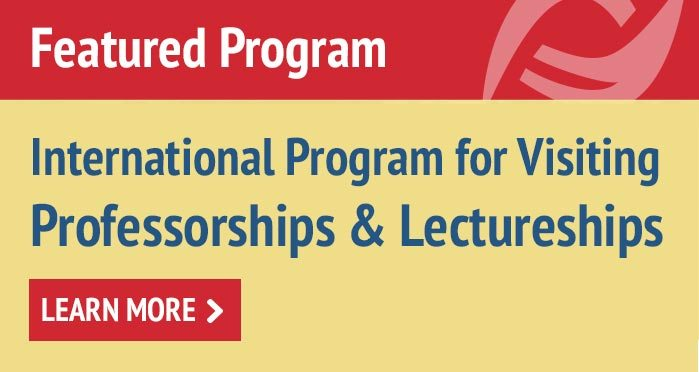 International Program for Visiting Professorships and Lectureships