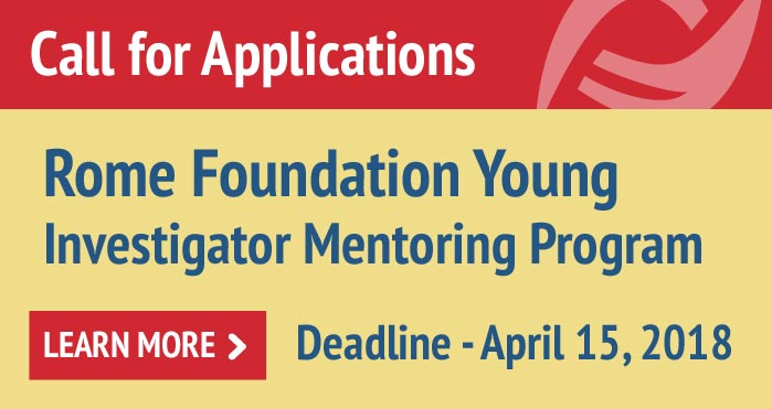 Rome Foundation Young Investigator Mentoring Program