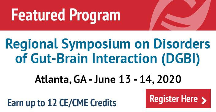 Regional Symposium on Disorders of Gut-Brain Interaction (DGBI) in Atlanta, GA