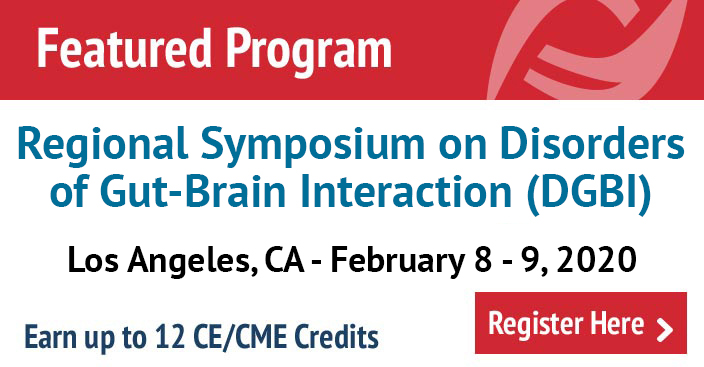 Regional Symposium on Disorders of Gut-Brain Interaction (DGBI) in Los Angeles, CA