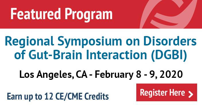 Regional Symposium on Disorders of Gut-Brain Interaction (DGBI) in Los Angeles, CA
