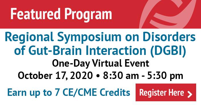 Regional Symposium on Disorders of Gut-Brain Interaction (DGBI) Virtual