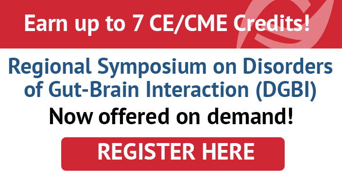 Regional Symposium on Disorders of Gut-Brain Interaction (DGBI) Virtual