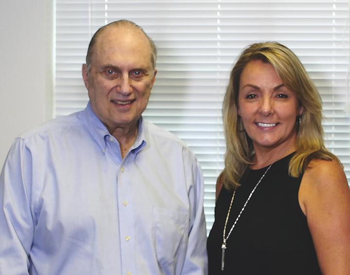 Dr. Drossman and Christine Danuck