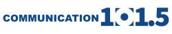 Communication 101.5 logo