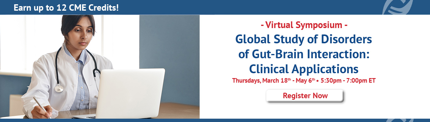 Virtual Course - Rome Foundation Global Study Of Disorders Of Gut-Brain Interaction: Clinical Applications