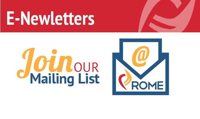 Join Rome's Mailing List